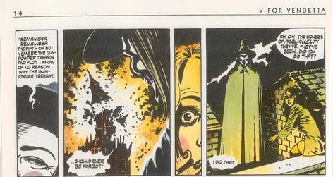 V for Vendetta, the graphic novel