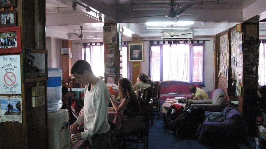 בתוך בית חבד קטמנדו (האמיתי). צילום: יאיר רוה