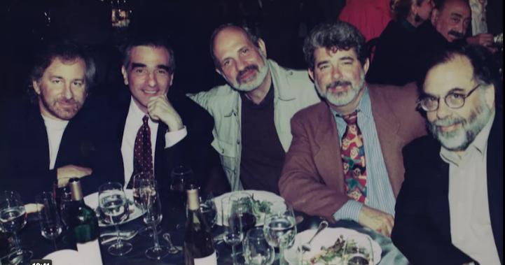 היינו חברים וזה היה מזמן: קופולה, לוקאס, דה פלמה, סקורסזי וספילברג הקטן