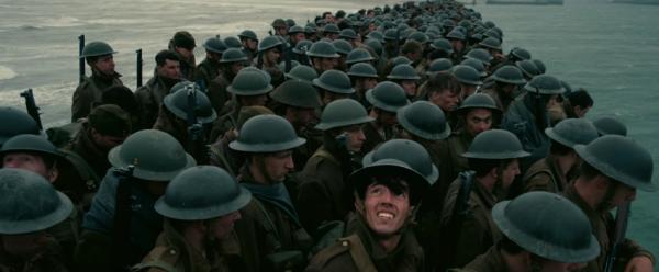 מתוך ״דאנקירק״, הסרט הבא של כריסטופר נולן