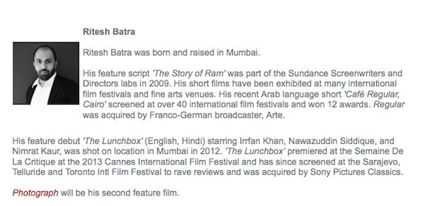 ריטש בטרה, הבמאי של ״לאנץ׳ בוקס״. תקוע בהודו בדרך לחממת התסריטים בירושלים (ולבכורה בתל אביב)