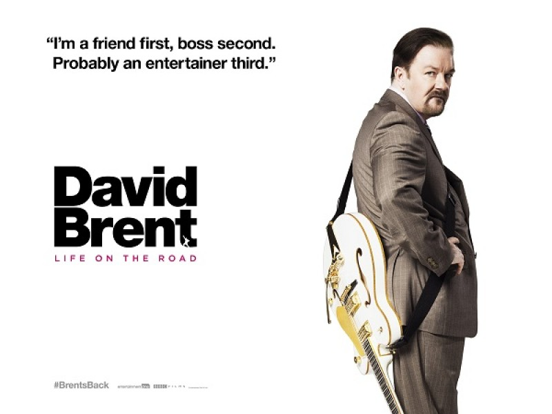 ריקי ג׳רווייס כתב, הפיק וביים את הסרט ״דיוויד ברנט, החיים בדרכים״. מעין ספין-אוף ל״המשרד״, שנוצר ב-2001