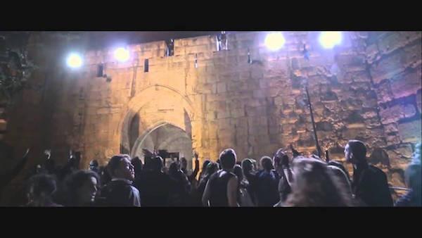 על חומותיך עיר דוד הפקדתי יוצרים. מתוך ״ג׳רוזלם״ של האחים פז