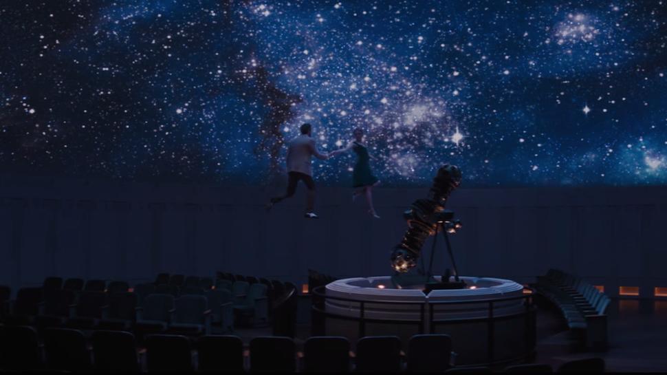 ״לה לה לנד״. מסע בין כוכבים