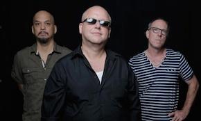 FROM LEFT:  Joey Santiago, Black Francis, David Lovering