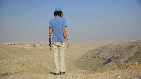 ״המתנחלים״ של שמעון דותן. בצילום: יוסי פרומן, אחד הקולות החסרים בסרט