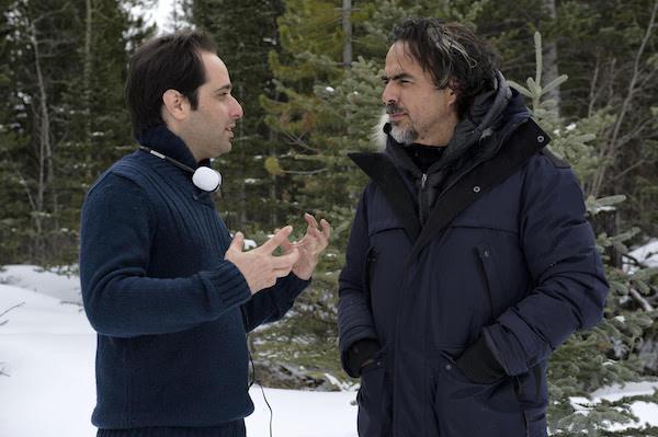 תום שובל ואלחנדרו גונסלס איניאריטו. לא בתמונה: ברניס בז׳ו
