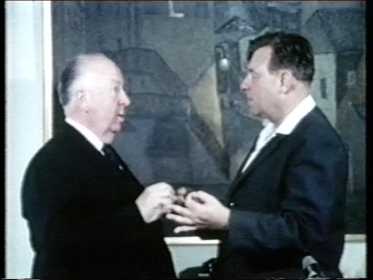 טדי קולק ואלפרד היצ׳קוק. ירושלים, 1967